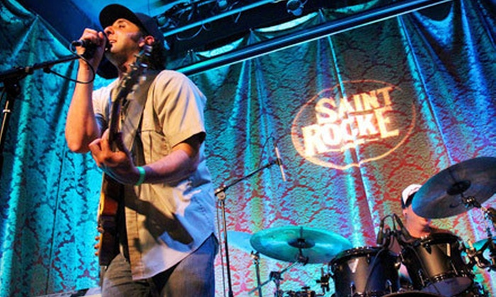Saint Rocke - Hermosa Beach: Concert and Drinks for Two at Saint Rocke (Up to 61% Off). Eight Shows Available.