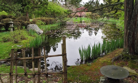 Visits or Memberships at Hammond Museum and Japanese Stroll Garden (Up to 57% Off). Four Options Available.