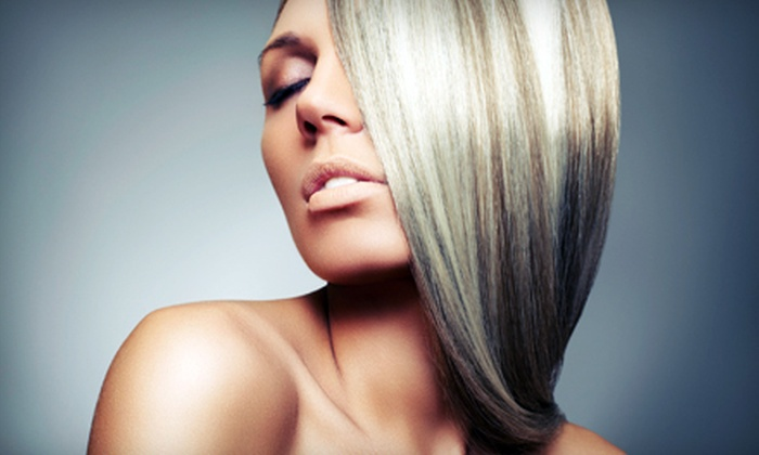Salon Charisse - Haverford: One or Two Keratin Express Treatments with Optional Haircuts at Salon Charisse in Haverford (Up to 68% Off)