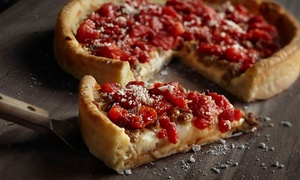 Deep-dish Pizza And Italian-american Meal For Two Or Four At Uno Pizzeria & Grill (up To 43% Off)