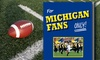 """Rich Wolfe Books: $9.99 for University of Michigan Football Fan Book, """"For Michigan Fans Only!"""" by Rich Wolfe ($24.95 Value)"""