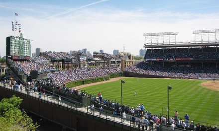 Cubs Game Rooftop Seating at Wrigley Rooftop with All-Inclusive Food and Drink (Up to 59% Off). Nine Games Available.