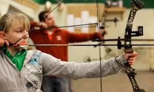 Average Joes Archery: Archery Outing for Two, 10 Open-Shoot Rounds, or Six Rounds of Virtual Archery at Average Joes Archery (52% Off)