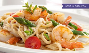 Gus & Guidos: Greek and Italian Food for Lunch or Dinner at Gus & Guidos (Up to 45% Off). Three Options Available