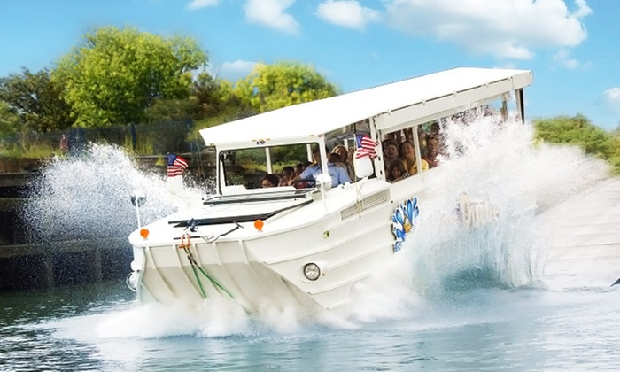 Ride The Ducks - Branson: Ride for Two or Four Adults with Quackers from Ride The Ducks (Up to 41% Off)
