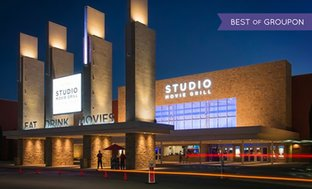 Up to 53% Off Movie Tickets at Studio Movie Grill