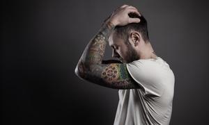 Fillink Tattoo: Wykonanie czarno-szarego tatuażu od 199,99 zł w Fillink Tattoo