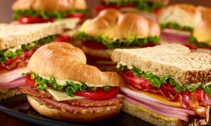 HoneyBaked Ham - Newnan, GA: Three Sandwiches, Sliced-Ham Dinner with Sides, or Catering and Party Platters at Honeybaked Ham (Up to 51% Off)