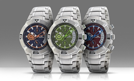 Men's Chronograph Watch. Multiple Designs Available. Free Returns.