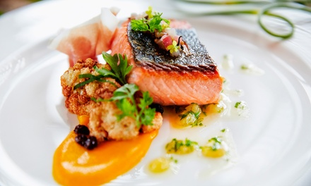 Two-Course Meal with a Glass of Wine for Two or Four at Spiga (Up to 70% Off)