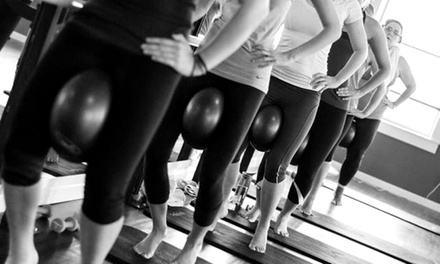 5 or 10 Barre Fitness Classes, or 30 Days of Unlimited Classes at Spokane Barre (Up to 52% Off)