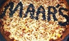 """MAAR's Pizza & More - Northeast San Antonio: $18 for Two Groupons, Each Good for a 14"""" One-Topping Pizza at MAAR's Pizza & More ($29.98 Value)"""