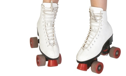 Roller-Skating Admission for Two or Four at Cal Skate (Up to 38% Off). Four Options Available.