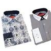 Elie Balleh Milano Italy Men's Slim-Fit Printed Dress Shirt