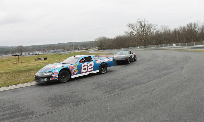 Rusty Wallace Racing Experience - Thompson Speedway: Race Car Driving Experience at Rusty Wallace Racing Experience (Up to 54% Off). Two Options Available.