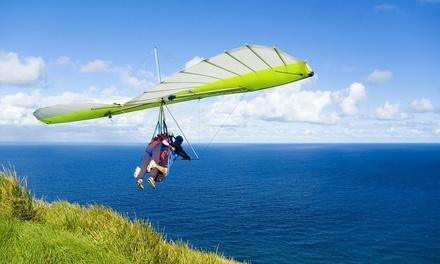 Vuelo tándem en ala delta para 1 o 2 personas sobre la playa de Almenara desde 34,90 € con Club Ulm