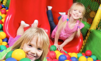 image for Indoor-Playground Visits for One or Two <strong>Kids</strong> (Up to 45% Off)