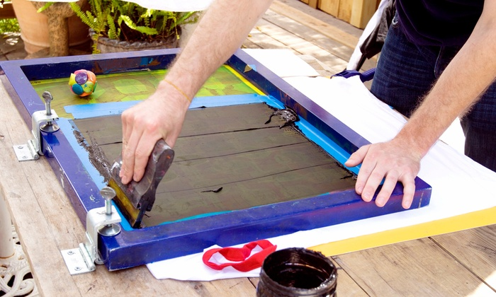 Grow Your Own Media - Atwater Village: Two-Hour Screenprinting Class for One or Two with Standard or Custom Image at Grow Your Own Media (Up to 57% Off)
