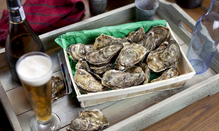 """Shuck It! Beer & Oyster Festival - Tony & Joe's: """"All you can handle!"""" for one or two at the Georgetown Shuck It! Beer and Oyster Festival on October 24 (Up to 34% Off)"""