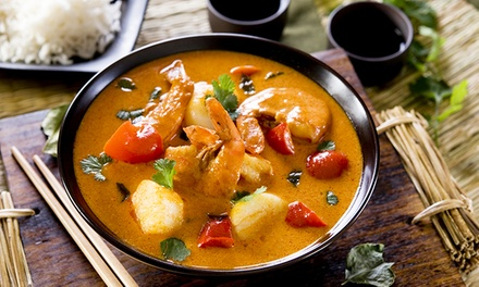 3-Gänge-Thai-Menü für Zwei oder Vier im Reis In Asia Restaurant ab 21,90 € (bis zu 55% sparen*)
