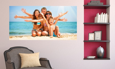 Custom Wall Decals  from Larger Than Life Prints (Up to 79% Off). Three Options Available.
