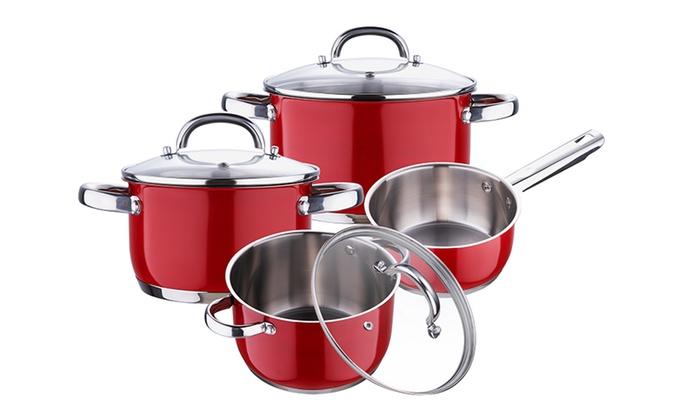Batterie de cuisine groupon - Cuisine en scene batterie de cuisine ...