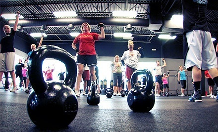10 Fitness Classes, or a 4- or 8-Week Boot-Camp Package at Kosama (Up to 85% Off)