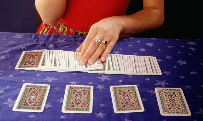 Psychic Readings By Eva - Jefferson: Palm, Tarot Card, or Aura Reading Package at Psychic Readings By Eva(Up to 67% Off). Three Options Available.