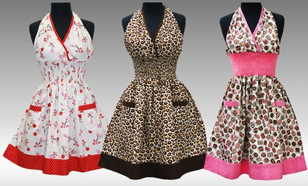 Mother's Day Retro Aprons. Multiple Styles Available. Free Returns.
