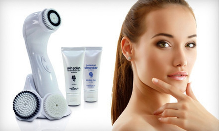 Facial and Body Cleansing and Exfoliation Set: $59 for a ProSonic Face and Body Cleansing and Exfoliation Anti-Aging Brush Set ($204 List Price). Free Shipping.