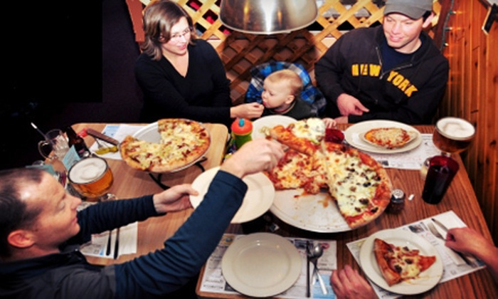 Pizza Man - Downtown Eagle River: Dinner for Two or $12 for $25 Worth of Italian Cuisine at Pizza Man