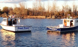 Sound Bound Fishing Charters: Four-Hour Charter for Up to Six from Sound Bound Fishing Charters (Up to 26% Off). Two Options Available.