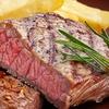 Fleisch vom heißen Stein