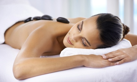 Hot Stone Back Massage with Optional Beauty Treatments at Fab Beauty (Up to 58% Off)
