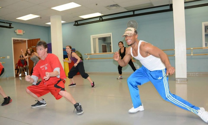 ACROSS THE FLOOR - Woodbridge: One Month of Unlimited Dance-Fitness Classes from Across The Floor (44% Off)