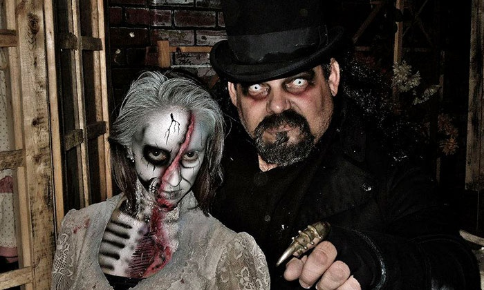 Factory of Terror - Multiple Locations: Admission to Two or Three Haunted Houses at Factory of Terror (Up to 58% Off)