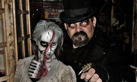 Admission to Two or Three Haunted Houses at Factory of Terror (Up to 58% Off)