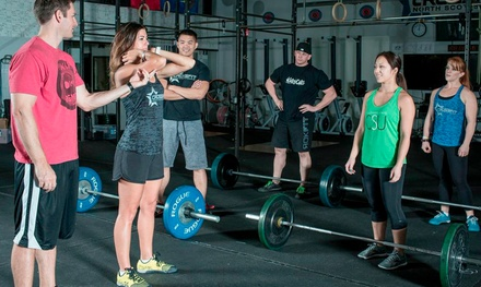 One Month of Unlimited Fitness Classes for One or Two at CrossFit New Strength (Up to 73% Off)