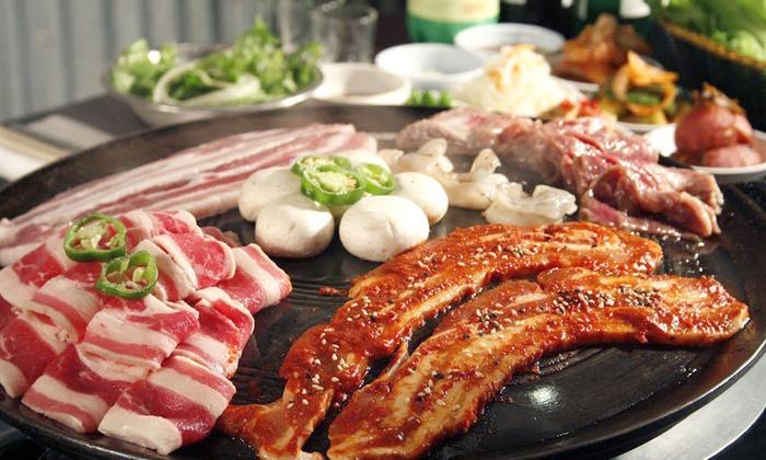 Honey Pig Restaurant - Multiple Locations: Korean Barbecue at  Honey Pig Restaurant  (Up to $13 Off)