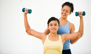 X-fit Personal Training: Two Personal Training Sessions with Diet and Weight-Loss Consultation from X-Fit Personal Training (65% Off)
