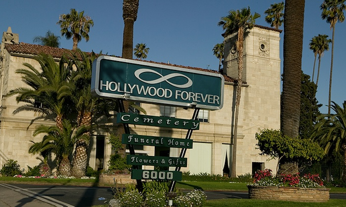 Hollywood Forever Cemetery Tour: Walking Tour for Two or Four from Hollywood Forever Cemetery Tour (50% Off)