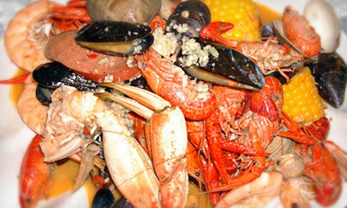Crabaholic, Inc. - San Jose: $12 for $20 Worth of Cajun Seafood and Drinks at Crabaholic, Inc.