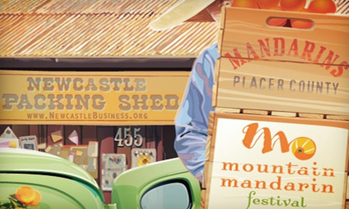 Mountain Mandarin Festival - Auburn: One Day at Mountain Mandarin Festival for Two or Four on November 17–18 (Up to Half Off)