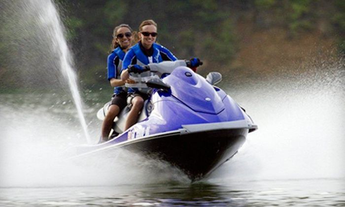 Fun Rentals - Seven Coves: Two- or Four-Hour 2012 Yamaha WaveRunner Rental from Fun Rentals (Up to 55% Off)