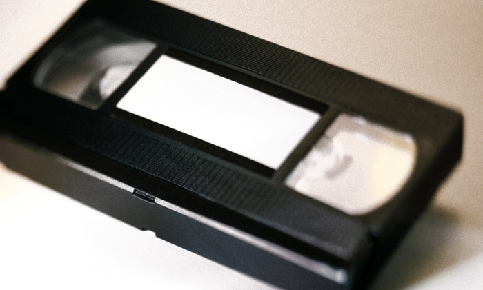 VHS Rescue - Los Angeles: Digital Conversion of One, Two, or Three VHS Tapes to DVD from VHS Rescue (Up to 58% Off)