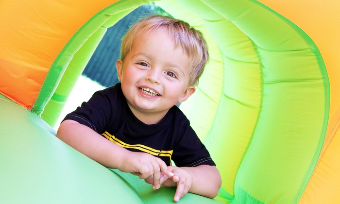 The Jump Around - Canoga Park: 5 or 10 Kids' Open-Play Sessions at The Jump Around (Up to 53% Off)