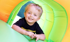 The Jump Around: 5 or 10 Kids' Open-Play Sessions at The Jump Around (Up to 57% Off)