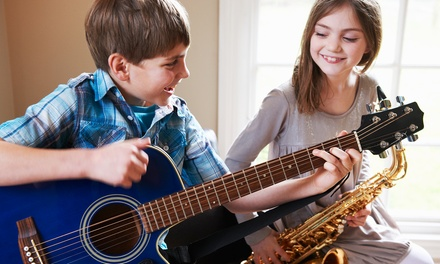 Four or Six 30-Minute Vocal or Instrumental Music Lessons at J. Oscar School of Music (50% Off)
