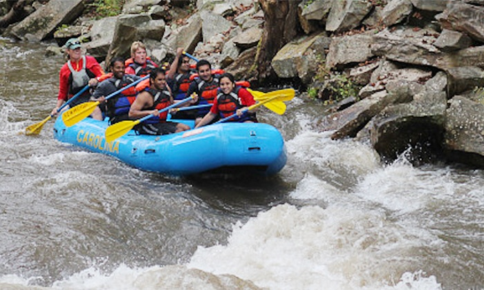 Carolina Outfitters - Nantahala: $99 for a Half-Day White Water Rafting Trip for Two from Carolina Outfitters ($189 Value)