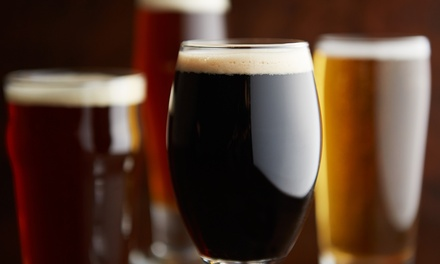 Beer-Tasting Package for One or Two with Pint Glasses and Souvenirs at Orlando Brewing (Up to 48% Off)